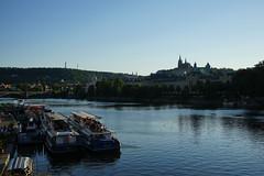 Blick über die Moldau zur Prager Burg (Sascha Klauer) Tags: republic czech prague prag praha tschechien repubblica česká sonyalpha7 sonya7 ilce7 sonyilce7