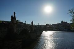 Sonnenuntergang an der Karlsbrücke (Sascha Klauer) Tags: republic czech prague prag praha tschechien repubblica česká sonyalpha7 sonya7 ilce7 sonyilce7