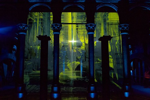 """Crossness pumping station. Luminary art installation by Heinrich & Palmer • <a style=""""font-size:0.8em;"""" href=""""http://www.flickr.com/photos/66868863@N00/48293389052/"""" target=""""_blank"""">View on Flickr</a>"""