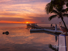 Islands, Keys, and Cays (Thüncher Photography) Tags: fujifilm gfx50s mediumformat scenic landscape waterscape nature outdoors sky clouds colors reflections tropical sunset dock pier floridakeys islamorada overseashighway florida southflorida