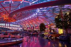 Austria | Salzburg | Hangar 7 (karlgrabherr) Tags: red bull airplane flight flugzeug flugplatz airborne architektur architecturephotography architecture blue sky bluehour blauestunde blaue stunde abendstimmung sony sonya7rii sonyfe28mmf2 handheld salzburg hangar7 redbull