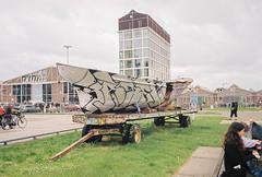 (Boris Kirov Young.Bloods) Tags: holland film netherlands amsterdam analog 35mm mju olympus analogue olympusmjuii graffiti basek