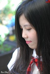 Kiki Fong (玩家) Tags: 2019 台灣 台北 師大附中 人像 外拍 正妹 模特兒 水手服 制服 戶外 定焦 無後製 無修圖 taiwan taipei portrait glamour model girl female kiki fong outdoor d40x 50mm prime