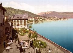 Lake Garda, Italy ( 1890-1900 ) (Silverbanks Pictures Ltd.) Tags: grand tour europe photochrom lake garda italy hotel fasano 1890s 1900s