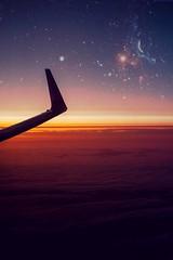 High out (viehbergerd) Tags: sonnenuntergang wolken hochoben abendrot sun sunrise flugzeug fensterblick linien filter horizon fly away abendruhe nighttime