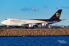 N580UP 5X B747F 34L YSSY-0805 (A u s s i e P o m m) Tags: sydney australia ups newsouthwales boeing syd sydneyairport yssy 5x queenoftheskies b747f