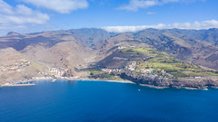 "Aerial view of the beach and steep coast of Laguna de Santiago on La Gomera, Spain (dronepicr) Tags: hike allgemein city wanderlust natur kanaren archipelago ""aerialviewtravel"" drone wandern mavic island stadt kanarische inseln teneriffa länderstädte insel geotagged landscape schönste strände luftbild strandurlaub bay spain sightseeing tenerife aerial ferien uav hiking wanderurlaub la gomera foto beach macaronesia strand travel urlaub luftbildreise ""birdseyeview"" canary islands vogelperspektive drohne holiday spanien ballermann"