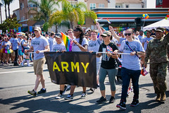 Cal Guard participates in the 2019 San Diego Gay Pride Parade (Like us on Facebook at CAGuard) Tags: sandiegopride pride pride2019 calguard