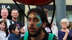 Carnival 2019 54 (byronv2) Tags: carnival carnival2019 edinburgh edimbourg scotland peoplewatching performer candid street princesstreet newtown costume colours parade edinburghjazzbluesfestival edinburghjazzbluesfestival2019 summer portrait man