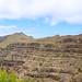 Terrassenfelder Berge im Tal Valle Gran Rey auf La Gomera, Spanien