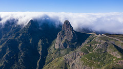 Roque de Agando im Nationalpark Garajonay auf La Gomera