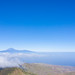 View above La Gomera towards Teneriffa