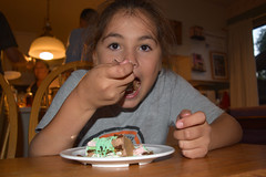 DSC_0083 (rlnv) Tags: california bayarea nikond3300 1855mmf3556gvrii birthday sunnyvale cake dessert gabriela