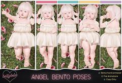 { Bellybean } Angel Bento Poses (Bella Parker) Tags: secondlife sl slevent slfamily slrelease slpose slbento bellybean bento bentopose pose poses td tdevent tdposes tdpose release