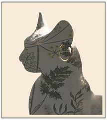 Bastet Egyptian Cat Goddess (Nanooki) Tags: ©suelambertlrpscpagb bsst baast ubaste baset bastet egyptian cat goddess