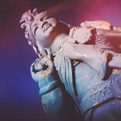 day 195 (Randomographer) Tags: project365 hindu statue concrete sculpture religious icon peace photography goddess divine divinity deity 365 195 2019 vii
