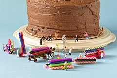 Project 365 - 7/15/2019 - 196/365 (cathy.scola) Tags: project365 odc littleperspectives ho hofigures miniature birthday candles cake