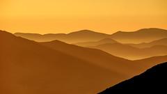 Fog in the Hills #2 (wn_j) Tags: landscape sunset desert hills fog orange canon canon500mm canon5d4 nature naturephotography atacama atacamadesert chile