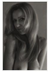 2 (evunja) Tags: akt women blackandwhite portrait act nude naked
