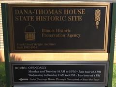 Dana Thomas House - Springfield, Illinois (Mark 2400) Tags: dana thomas house springfield frank lloyd wright illinois