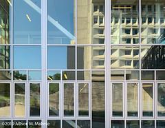 UMASS Amherst #2 (A.Maltese) Tags: abstract geometric umass building reflection