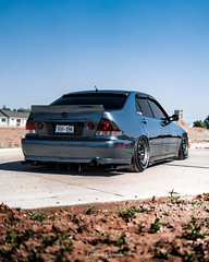 Austin's Bagged Lexus IS300 (Endless Visuals) Tags: bagged lowered low slammed slammedenuff stance stancenation baggednation cars car lexus is300 lexusis300 rotiform braum carbonfiber carbon fiber