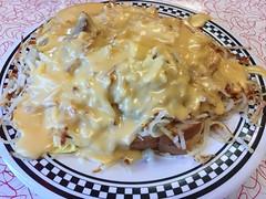 """""""Breakfast Shoe Sandwich"""" (Mark 2400) Tags: charlie parkers diner springfield breakfast shoe sandwich"""