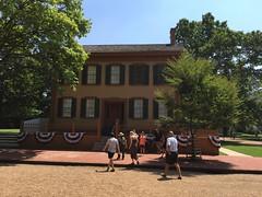 Abraham Lincoln House - Springfield, Illinois (Mark 2400) Tags: abraham lincoln house springfield illinois