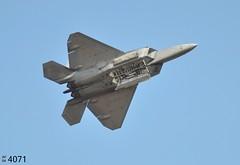 57th WG Lockheed-Martin F-22A Raptor 04-4071 / Bomb Bay Open (Wing attack Plan R) Tags: f22a 044071 lockheedmartin raptor 57thwing usaf