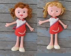 Two Face Doll (neshachan) Tags: twofacedoll doll weird mod weirddoll camaydoll camay