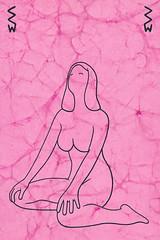 Kneeling Nude I (Craig Walkowicz) Tags: woman female nude kneeling semiotics sign symbol interpretation informationtranslation idea meaning mentalconcept analysis simplification abstraction drawing ccw