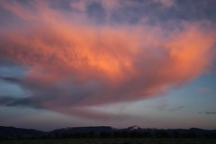Pinkish (Jim Nix / Nomadic Pursuits) Tags: jimnix wyoming jacksonhole mountains clouds sunset