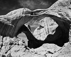 DSC_5438bw-2 (E Michelle O'Connor) Tags: utah moab utahlandscape moablandscape archesnationalpark