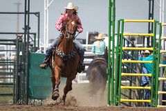 Strathmore Stampede 2018 (tallhuskymike) Tags: strathmore stampede rodeo event outdoors strathmorestampede 2018 prorodeo cowgirl horse horses action alberta western