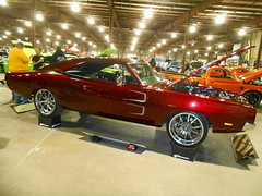 1969 Dodge Charger (splattergraphics) Tags: 1969 dodge charger customcar bbody mopar carshow eastcoastindoornationals marylandstatefairgrounds timoniummd