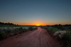 Road to the Sun (theskyhawker) Tags: sunset horizon over land moody sky dramatic twilight dusk outdoors countryside travel nonurban scene tranquil rural utah san juan county usa desert dirt road colorado plateau