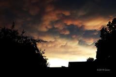 Angry Skies (Dancing Bohunk) Tags: sky cloud severe mammatus angry minnesota mn silhouette weather sunset
