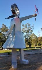 Thank You (Gillian Everett) Tags: eumundi park queensland memorial statue sculpture 2018 foryou 365 2019