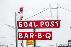 Goal Post Bar B Q (Thomas Hawk) Tags: alabama america anniston goalpostbarbq usa unitedstates unitedstatesofamerica neon restaurant fav10 fav25 fav50