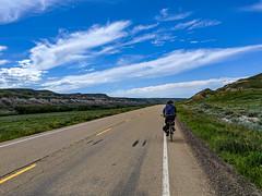 At 500km with Moca Joe (djking) Tags: ab570 man biking alberta badlands canada dorothy 500km bike mocajoe