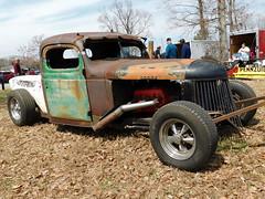 1940 Dodge Pickup (splattergraphics) Tags: 1940 dodge pickup truck custom ratrod patina mopar carshow southernknightsrodcustomcarclub charlottehallmd