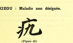 This image is taken from Page 81 of Les caractères médicaux dans l'écriture chinoise (Medical Heritage Library, Inc.) Tags: chinese language medicine traditional wellcomelibrary ukmhl medicalheritagelibrary europeanlibraries date1914 idb24852752