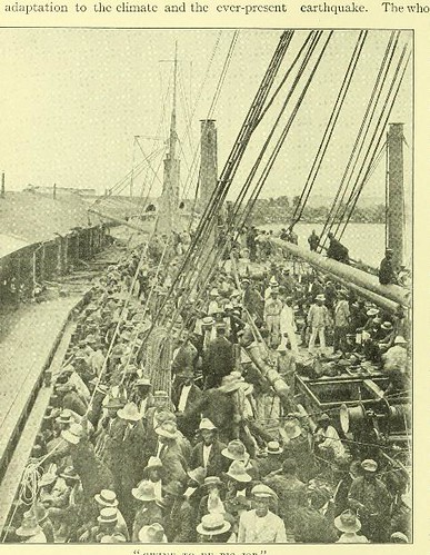 This image is taken from Page 22 of The Panama Canal : an illustrated historical narrative of Panama and the great waterway which divides the American continents