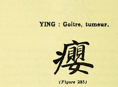 This image is taken from Page 222 of Les caractères médicaux dans l'écriture chinoise (Medical Heritage Library, Inc.) Tags: chinese language medicine traditional wellcomelibrary ukmhl medicalheritagelibrary europeanlibraries date1914 idb24852752