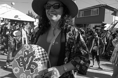 DSC_0209 (rlnv) Tags: california bayarea sanjosé japantown sanjoséobonfestival sanjosébuddhistchurchbetsuin obon blackandwhite nikond3300 1855mmf3556gvrii rosina