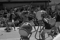 DSC_0190 (rlnv) Tags: california bayarea sanjosé japantown sanjoséobonfestival sanjosébuddhistchurchbetsuin obon taiko sanjosétaiko nikond3300 1855mmf3556gvrii blackandwhite