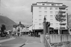 Brig (vladixp) Tags: fp4 fp4plus fp480 d76 14min 20c 12 praktica mtl5 flektogon k2 pf7250u 3600dpi 35mm yellowfilter filmscan 35mmfilm film bw bwfilm filmphotography negative scanned svizzera schweiz switzerland suisse brig valais