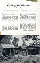 Knott's Berry Farm in the news (jericl cat) Tags: knotts berryfarm news newspaper article clipping scrapbook auction paper gold mine shack arastra ghosttown thisweek magazine