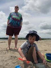Rainbow Haven Beach (brownpau) Tags: iphonex canada novascotia rainbowhaven beach paulk ezra ezraordo