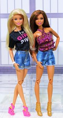 Summer Shorts (Annette29aag) Tags: barbie doll fashionista redressed restyle summer shorts photography annette29aag